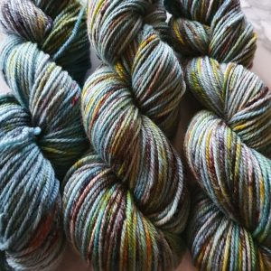 Speckled 8ply Wool